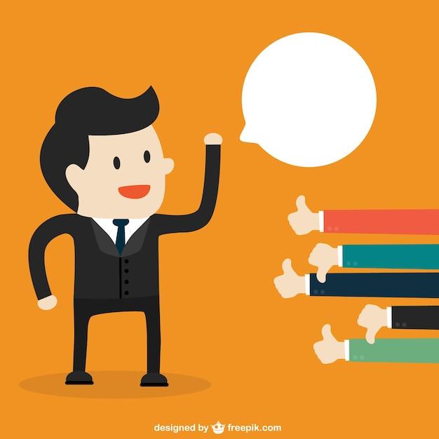 La valutazione di un idea di business vettore Vettore gratuito
