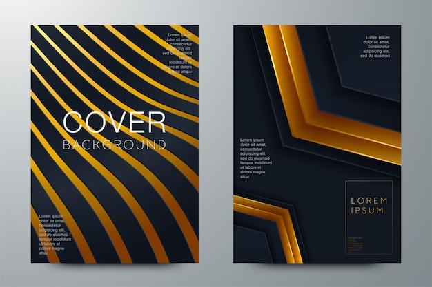 Layout astratto legante. design della copertina dell'opuscolo bianco Vettore Premium