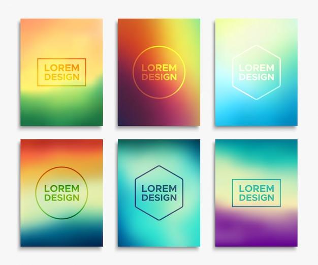 Layout di volantino per brochure in formato a4. banner vettoriale Vettore Premium