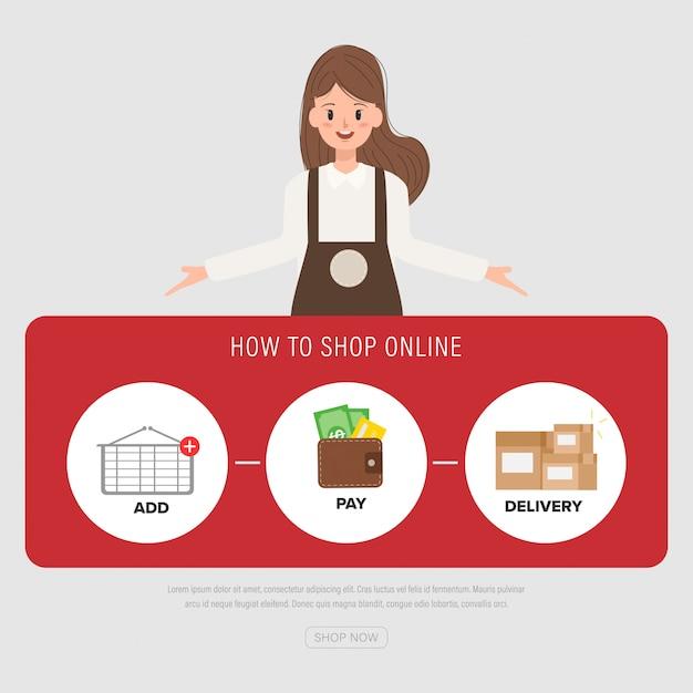 huge discount 6c8ca 49122 Le persone dello staff posano per lo shopping online del ...
