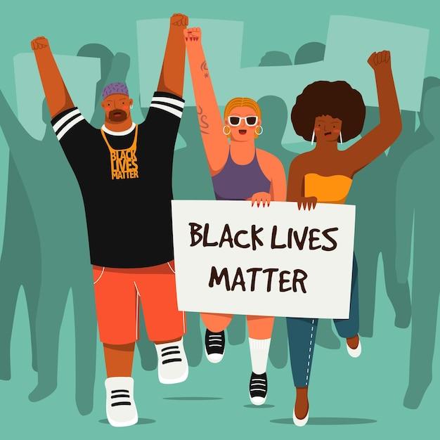 Le vite nere contano il concetto Vettore gratuito