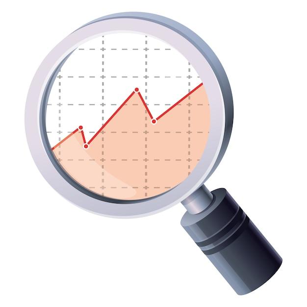 Lente d'ingrandimento analitica Vettore Premium