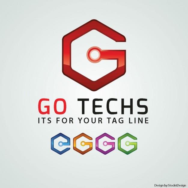 Lettera g logo Vettore gratuito