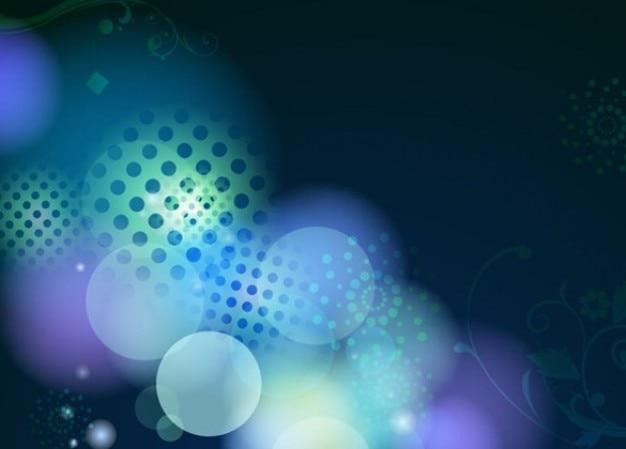 Libero abstract illustrazione vettoriale design blu Vettore gratuito