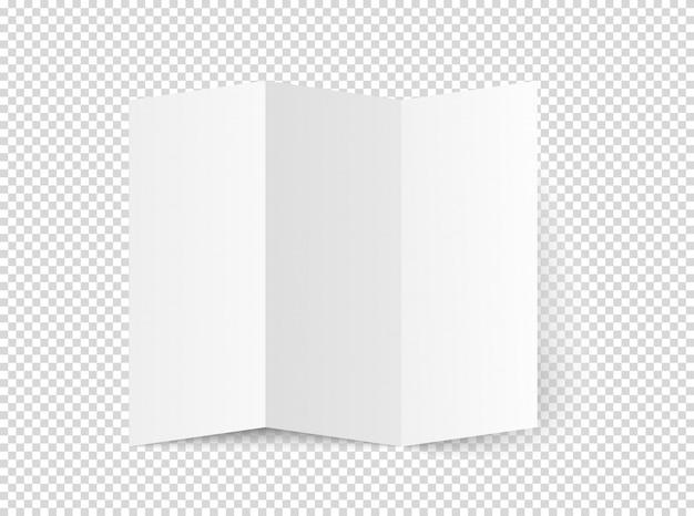Libretto bianco bianco vettoriale Vettore Premium