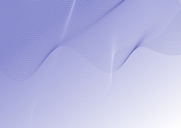 Linee di contorno astratto Vettore gratuito