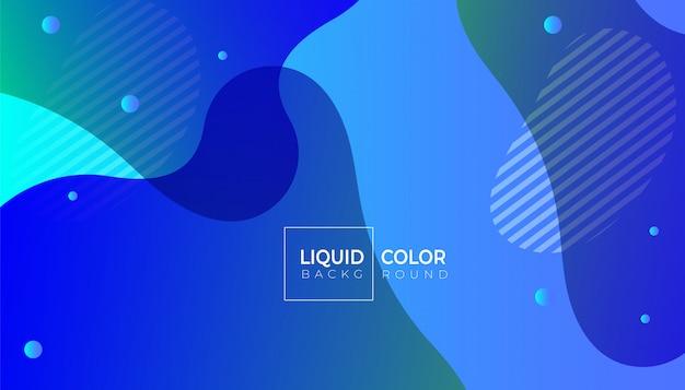 Liquido liquido di plastica modella lo sfondo Vettore Premium