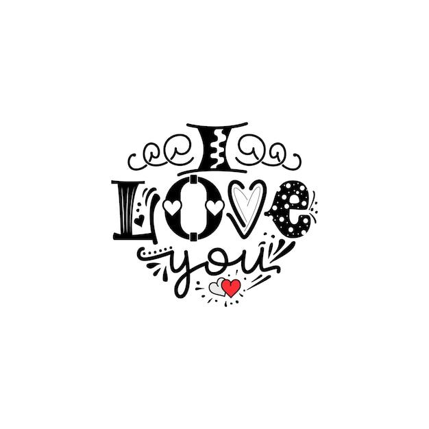 Live laugh love citazione scritta a mano Vettore Premium