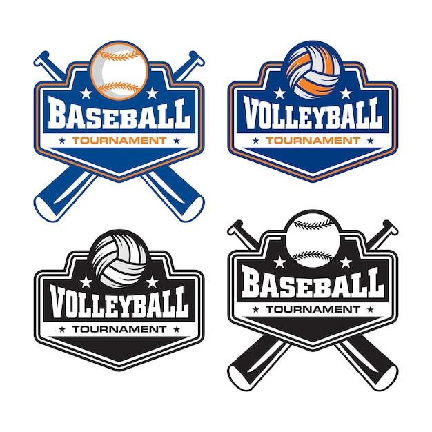 Logo a sfera base Vettore Premium