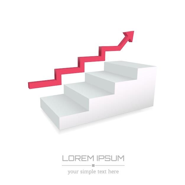 Logo aziendale minimale creativo. Vettore Premium