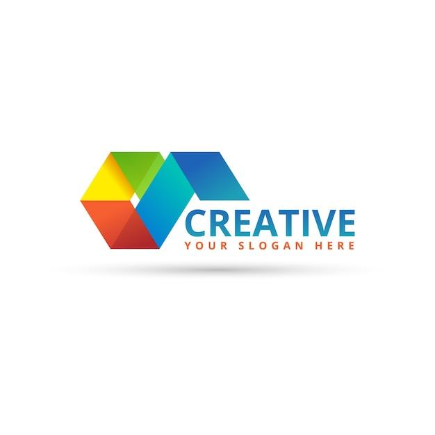 Logo aziendale Vettore Premium