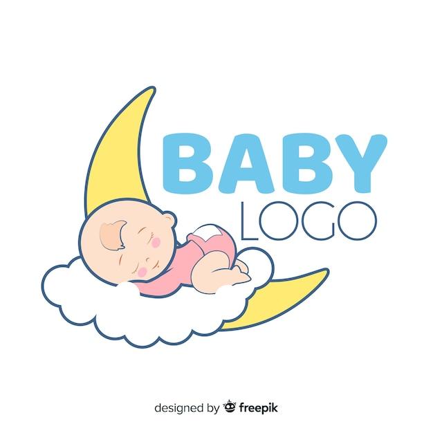 Logo del bambino Vettore gratuito