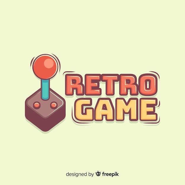 Logo del game pad disegnato a mano Vettore gratuito