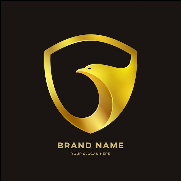 Logo dell'uccello Vettore Premium