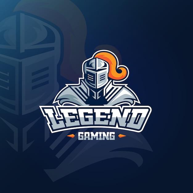 Logo della mascotte per il concetto di gioco Vettore gratuito