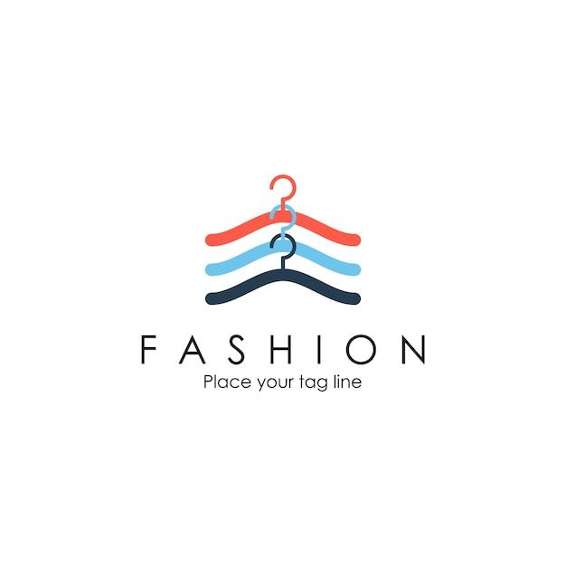 Logo di moda Vettore Premium
