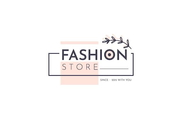 Logo di moda Vettore gratuito
