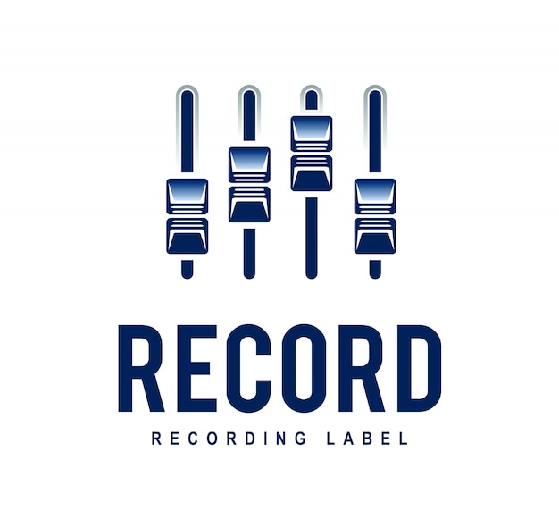 Logo di registrazione Vettore gratuito