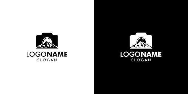 Logo fotografico Vettore Premium