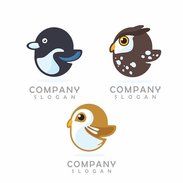 Logo mascotte di pollo Vettore Premium