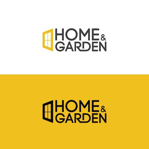 Logotipi immobiliari di lusso ed eleganti Vettore Premium