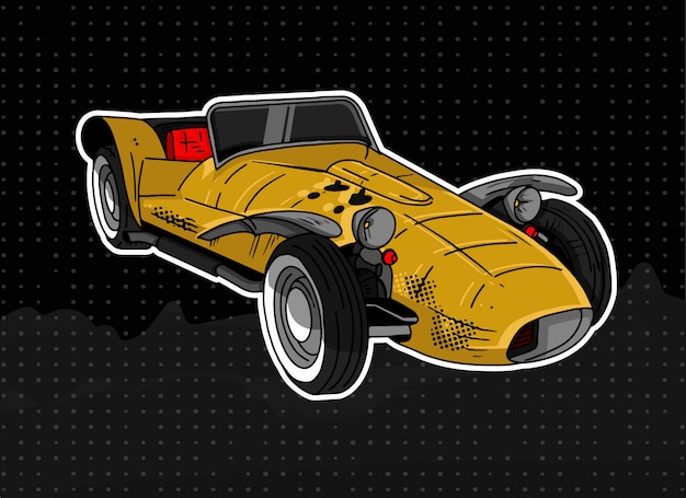 Lotus seven 1961 Vettore Premium