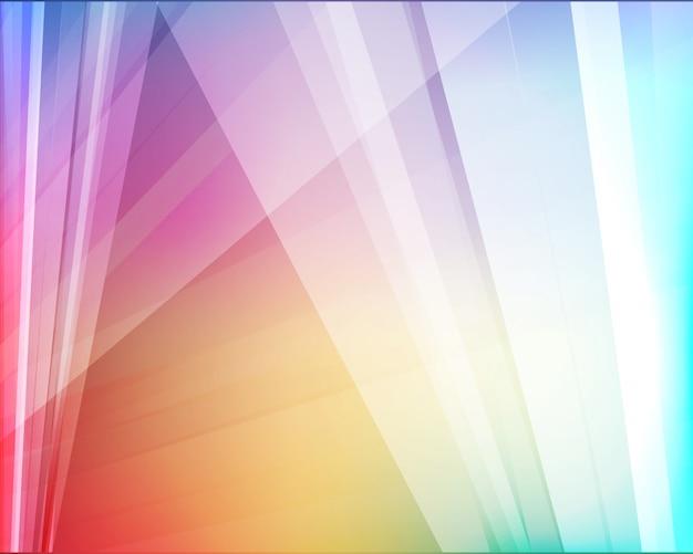 Luce astratta Vettore Premium