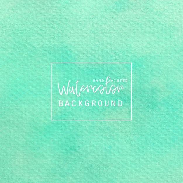 Luce sfondo verde acquerello Vettore gratuito