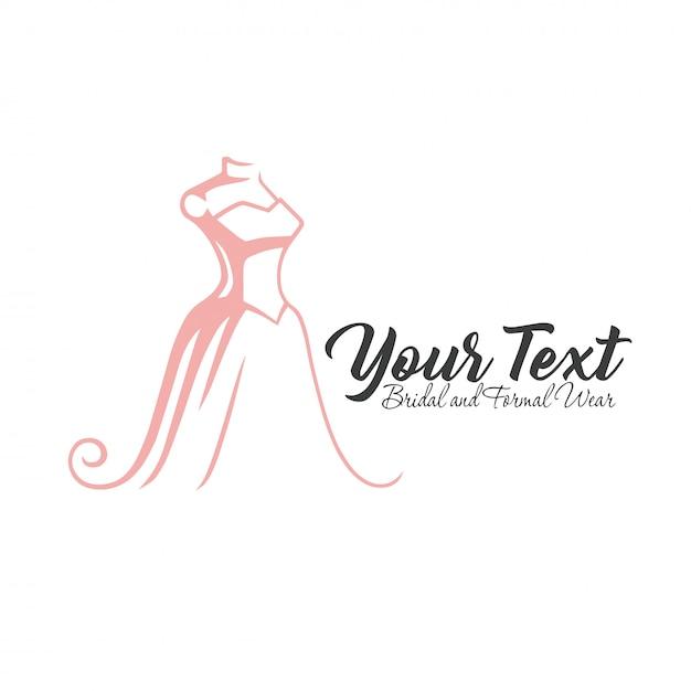 Luxury boutique logo Vettore Premium