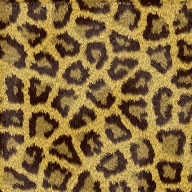 Macchie del leopardo sfondo Vettore gratuito