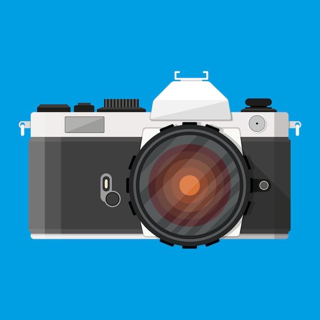 Macchina fotografica retrò Vettore Premium