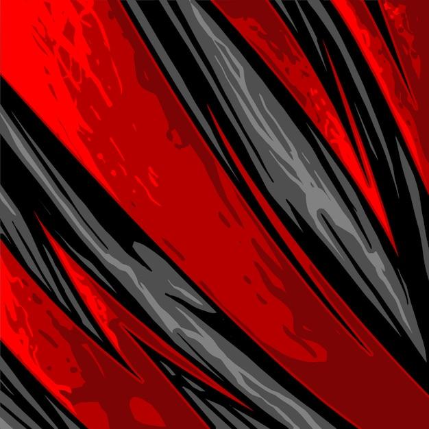 Maglia sportiva con motivo astratto a freccia Vettore Premium