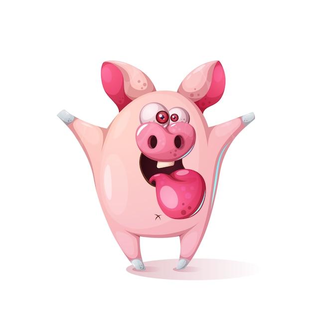 Cartoni animati con maiali