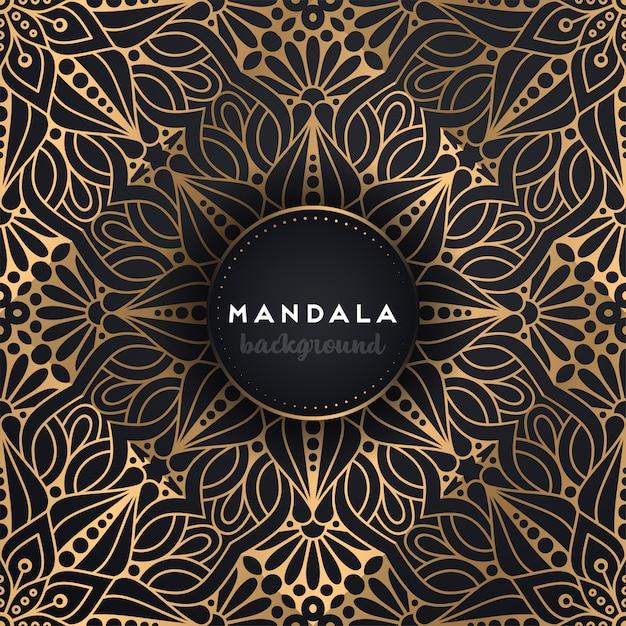 Mandala ornamentale di lusso Vettore gratuito
