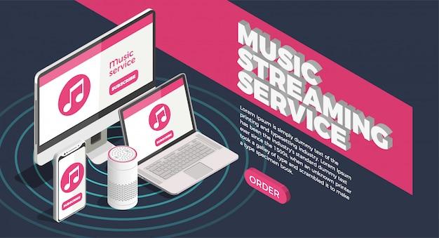 Manifesto dell'industria musicale Vettore gratuito