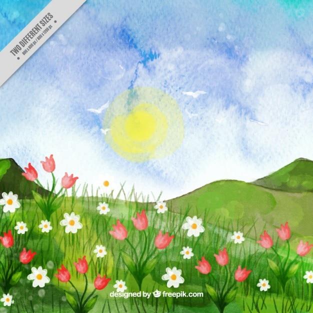 Amato Mano paesaggio dipinto | Scaricare vettori gratis GS92