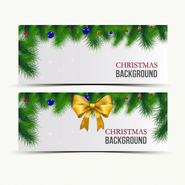 Marry christmas and new year biglietto di auguri Vettore Premium