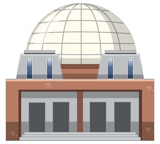 Maschera isolata di costruzione moderna Vettore gratuito