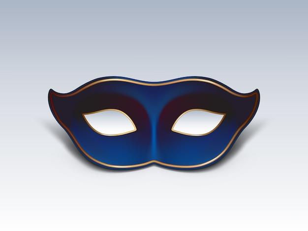 Maschera per il viso colombina icona 3d vettoriale realistico Vettore gratuito
