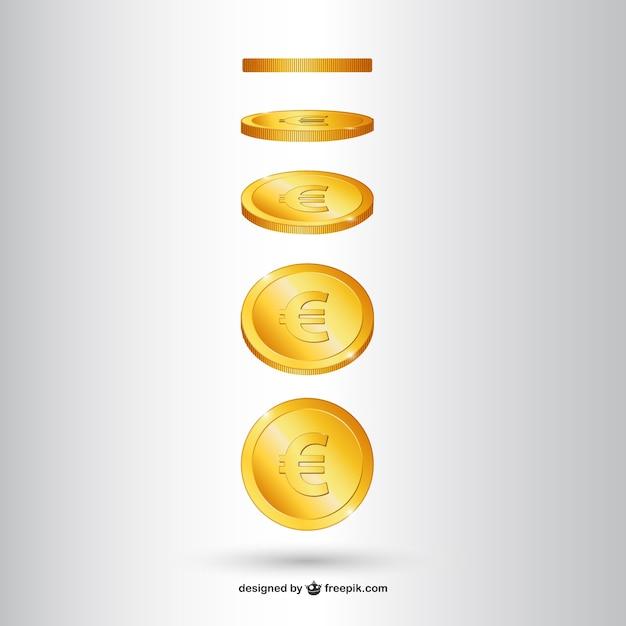 Medaglia d'oro vettore Vettore gratuito