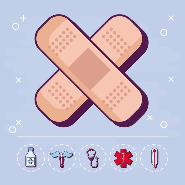 Medicina e medicina Vettore gratuito