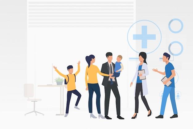 Medico di consulenza familiare Vettore gratuito