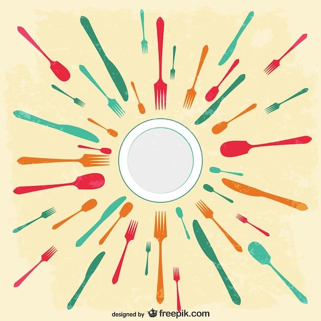 Menu del ristorante gratuito image Vettore gratuito