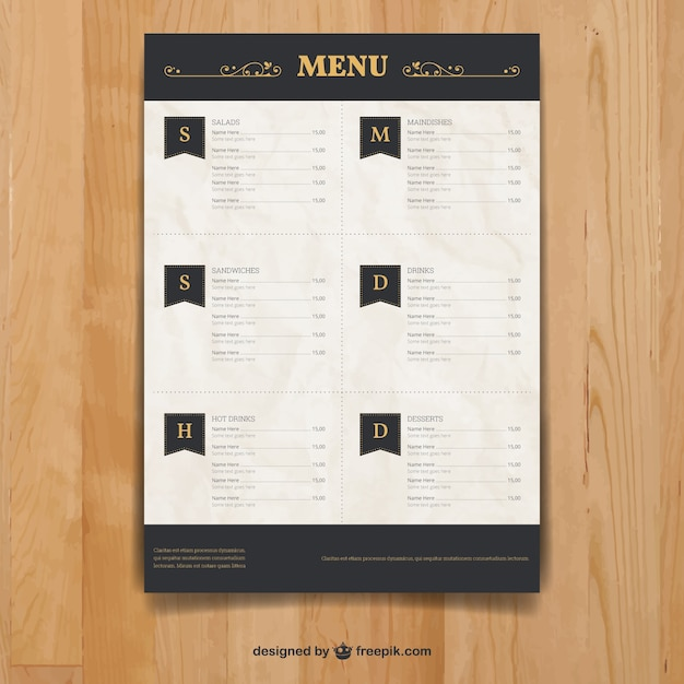 Dal S Restaurant Take Out Menu