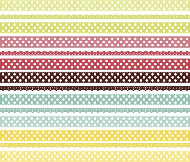 Merletti sfondo colorato Vettore gratuito