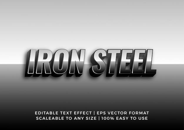 Metallo effetto acciaio cromato Vettore Premium