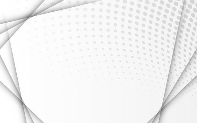 Mezzitoni Sfondo Sfumato Bianco E Grigio Scaricare Vettori Premium