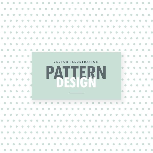 Minimo sfondo bianco con pattern di punti blu chiaro Vettore gratuito