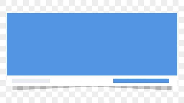 Mockup di template per fanpage di copertina di facebook Vettore Premium