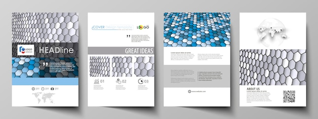 Modelli di business per la brochure Vettore Premium